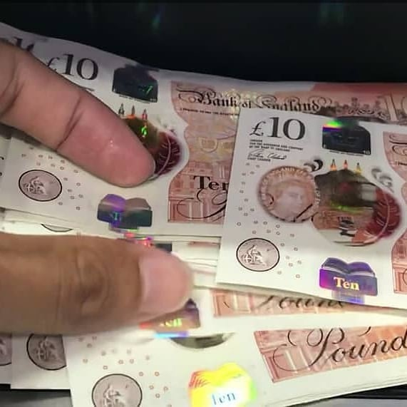 Buy counterfeit Sterling in the UK